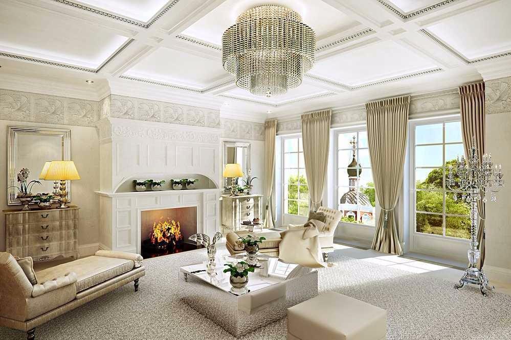1.Ruang Tamu Yang Elegan