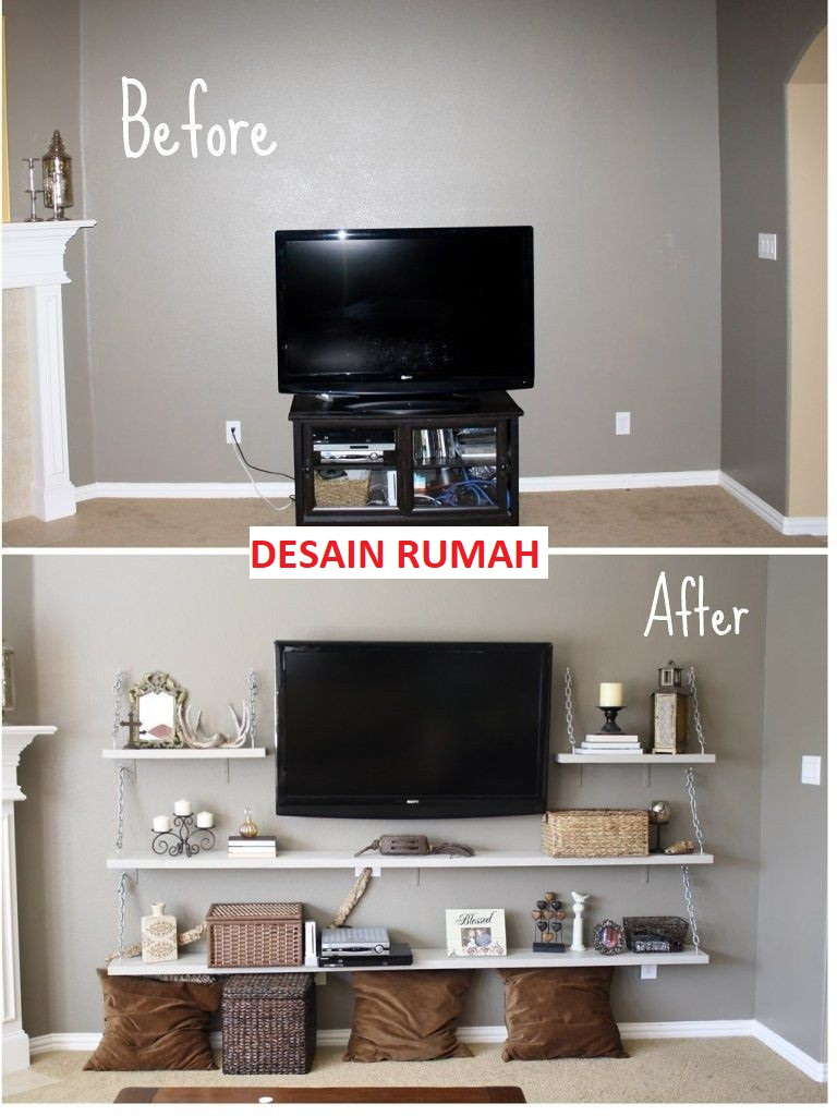 Before - After Rak Televisi