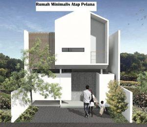 Rumah minimalis dengan dua lantai