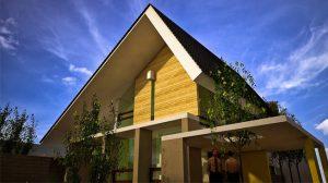 Desain Atap Berbentuk segitiga