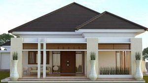 Desain Atap Rumah Pelana Kuda